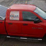 خودرو مجهز به پنل خورشیدی