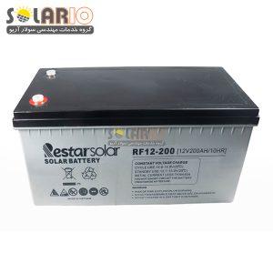 باتری ۲۰۰ آمپر ژل دیپ سایکل رستا سولار