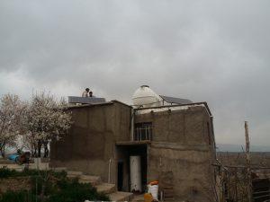 برق خورشیدی + پمپ شناور