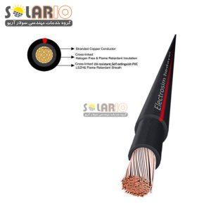 کابل خورشیدی نمره4 هدایت سیم